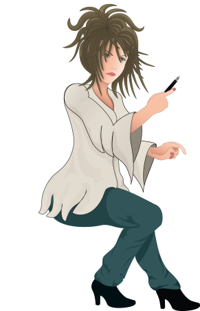 Dina's Desktop Logo Avatar